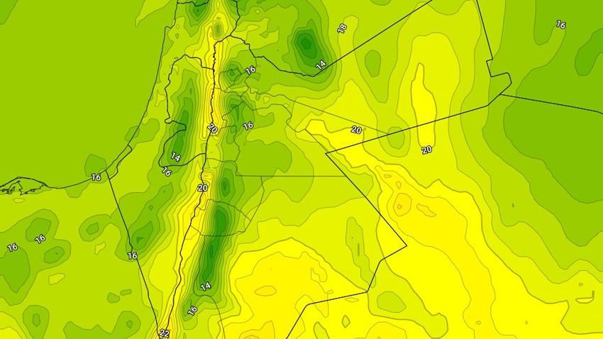 الإثنين | ارتفاع على درجات الحرارة واجواء باردة نسبيًا نهاراً وشديدة البرودة ليلاً