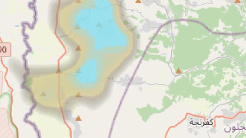 تحديث الساعة 4.15 عصراً : سُحب محلية ماطرة تؤثر على اجزاء من شمال المملكة