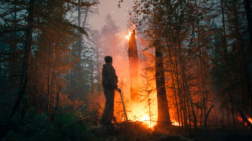Siberian wildfires reach world's coldest inhabited city