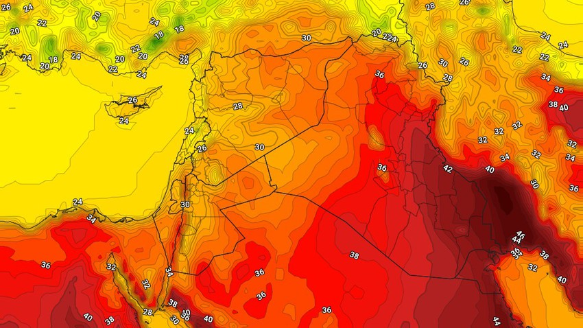العراق | طقس حار ومُغبر في العديد من المناطق الجمعة