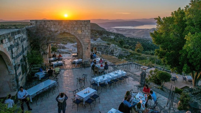 The Jordanian `Umm Qais`... a wonderful city that combines the charm of the present and the nobility of the past