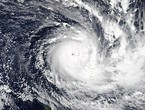 Hurricane `Harold` is developing into the `severe` fifth degree and may hit `Fiji Islands` in the Pacific Ocean