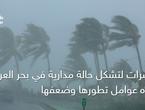مؤشرات لتشكل حالة مدارية في بحر العرب... وهذه عوامل تطورها وضعفها
