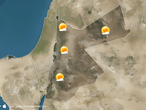 Jordan A clear rise in temperatures Thursday