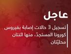 الأردن | تسجيل 3 حالات إصابة بفيروس كورونا المستجدّ، منها اثنتان محليّتان