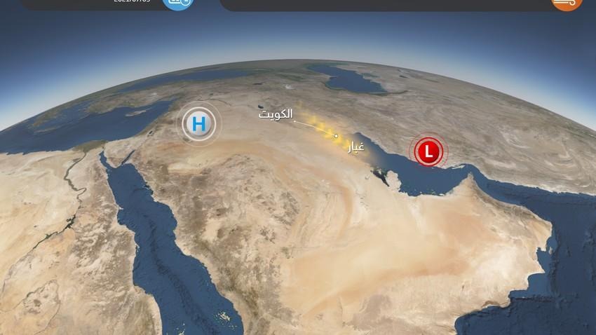 الكويت   رياح نشطة وغبار من جديد على الكويت يوم الجمعة