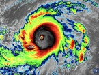 Hurricane Surigay reaches class 5 off the coast of the Philippines