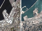 The Beirut explosion and the effects of the damage it caused, as they appeared from outer space ... with videos and photos