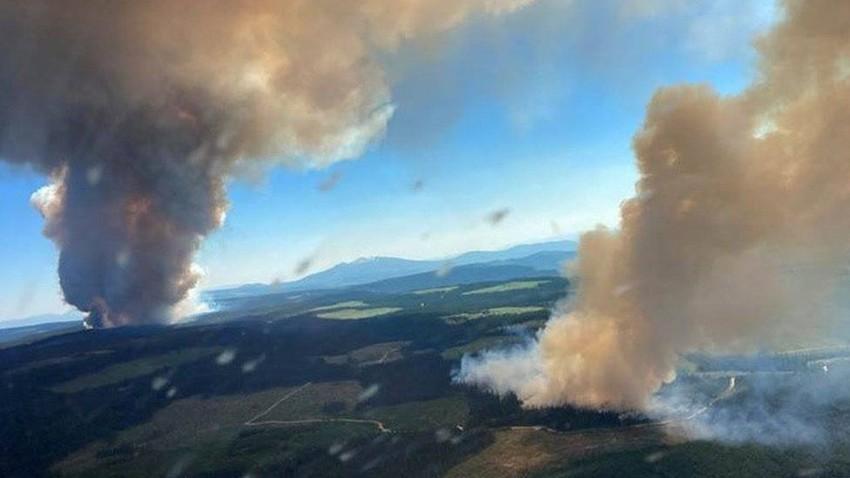 كندا تشتعل..حريق ووفيات وظروف استثنائية تعيشها مناطق في كندا نتيجة موجة الحر التاريخية