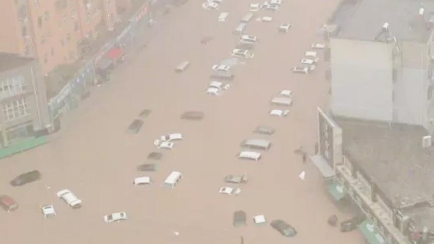 Chaos, destruction and loss of life.. this was the scene of the catastrophic floods that struck China