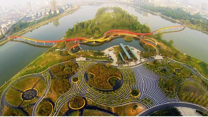 المدن الاسفنجية .. سلاح الصين ضد الفيضانات