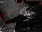 الأرصاد العمانية تصدر البيان رقم 2 حول الحالة المدارية في بحر العرب