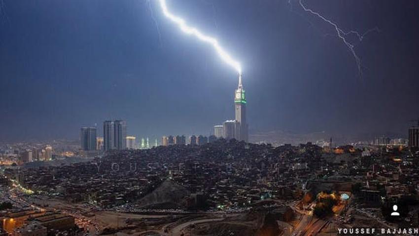 السعودية | طقس العرب يتوقع ارتفاع فرص الأمطار على المشاعر المقدسة والطائف وجدة في أغسطس .. تفاصيل