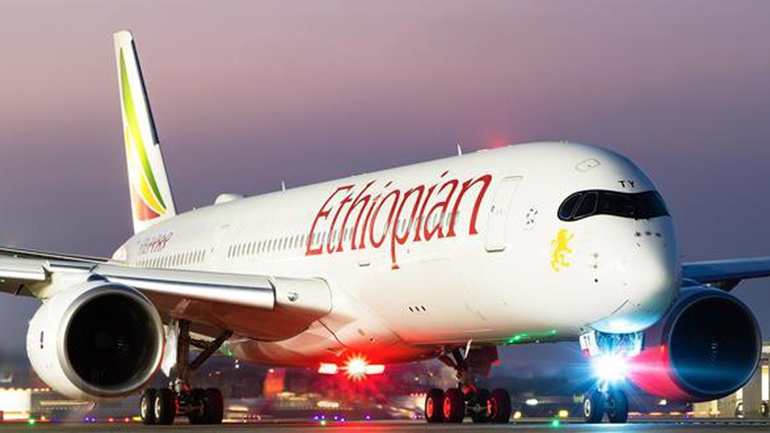 Ethiopian Airlines statement on the reason for its emergency landing at other airports مطار