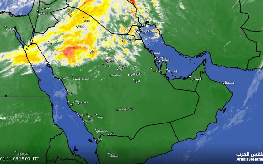 تحديث 11:50 صباحاً | سُحب رعدية شرق طريف و أخرى عالية تغطي معظم مناطق الشمال