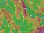 الرياض | بعد أيام عاصفة بالغبار .. تطورات هامة ومُبشرة حول تأثير الرياح الشمالية الغربية على الرياض الأيام القادمة