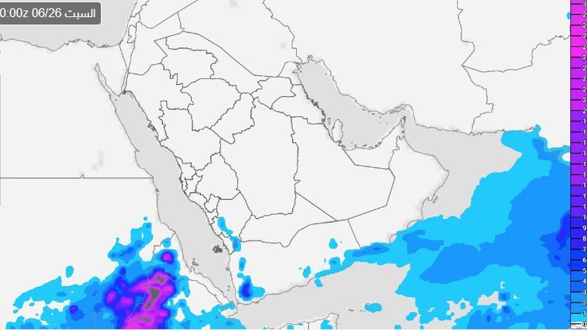 السعودية   3 مناطق قد تشملها فرص الأمطار يوم السبت .. تفاصيل