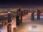 Why is fog forming in the Emirates