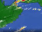 تحديث 2:40م | الأمطار تتساقط بغزارة على الجبال وتوقعات بامتدادها نحو مسقط والسواحل الساعات القادمة