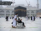Videos | Watch the heavy rain now in Makkah and the Grand Mosque in Mecca