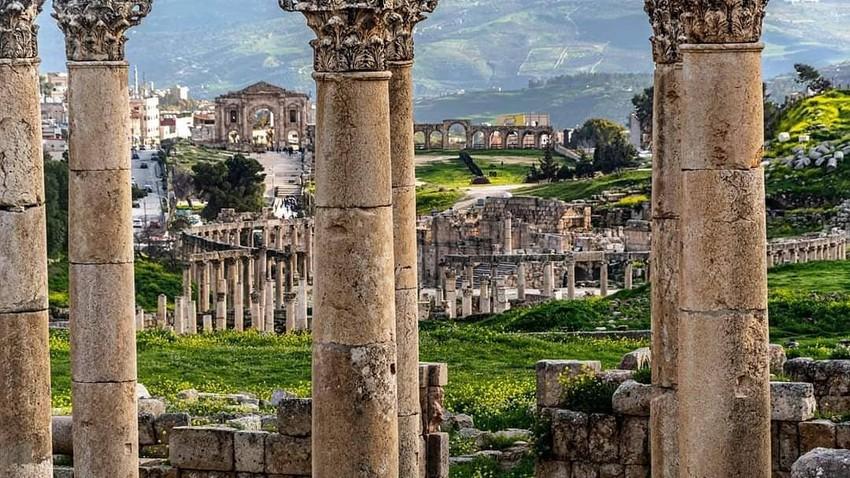 مدينة جرش.. واحدة من أكثر المواقع التاريخية روعة في العالم.. تعرّف عليها