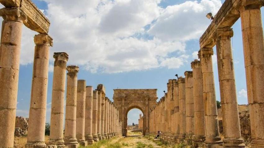 La merveilleuse ville de Jerash..ce n'est pas seulement une ville ancienne