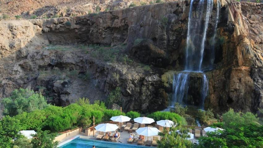 حمامات ماعين في الأردن.. مكان رائع يجمع بين السياحة والعلاج والترفيه
