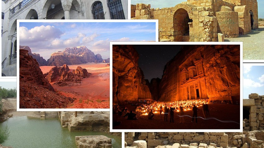 Learn about the Jordanian sites included in the UNESCO World Heritage List