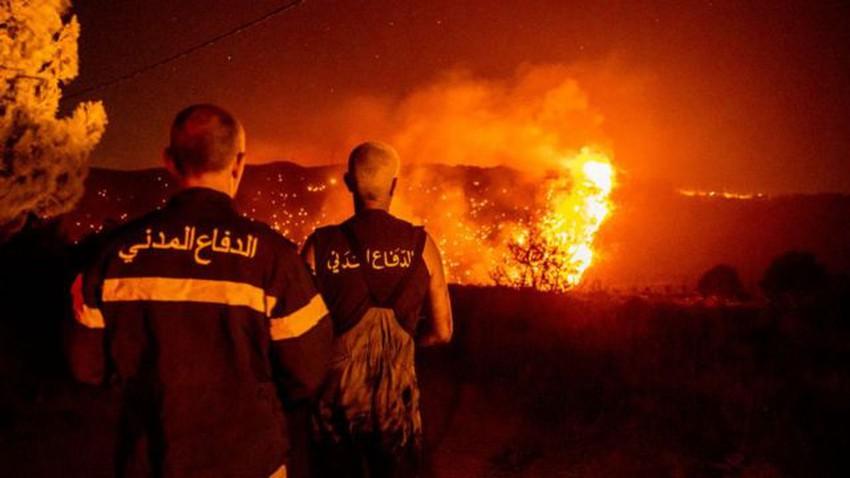 تواصل نداءات الاستغاثة مع امتدار الحرائق في لبنان