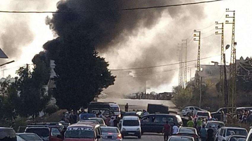 بالفيديو   وفاة 20 شخصا على الأقل وعشرات الجرحى في انفجار خزان وقود في لبنان
