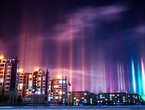 The amazing columns of light ... what they really are!