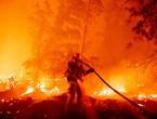 عاجل | اندلاع حريق هائل في غابات تنومة .. شاهد الفيديو