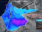 Jordan | Monitor the emergence of atmospheric instability in the middle of the week