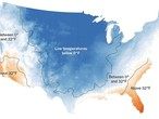 Weather around the world | The coldest storm in years .. 73% of the United States is covered with snow