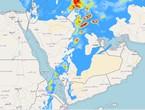 الرياض | عودة فرص هطول الأمطار اللّيلة على العاصمة الرياض