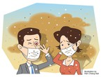 The effect of dust on human health..and important health guidelines for dealing with dust waves