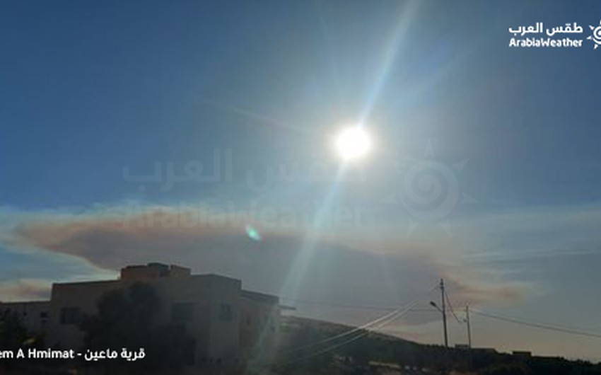 Mubasher: The smoke of the fires covers the sky of Jerusalem and appears in the sky of Jordan