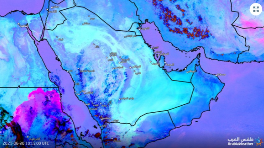 عاجل | عاصفة ترابية هائلة تجتاح دولة عربية وتغطي ربع مساحتها الجغرافية