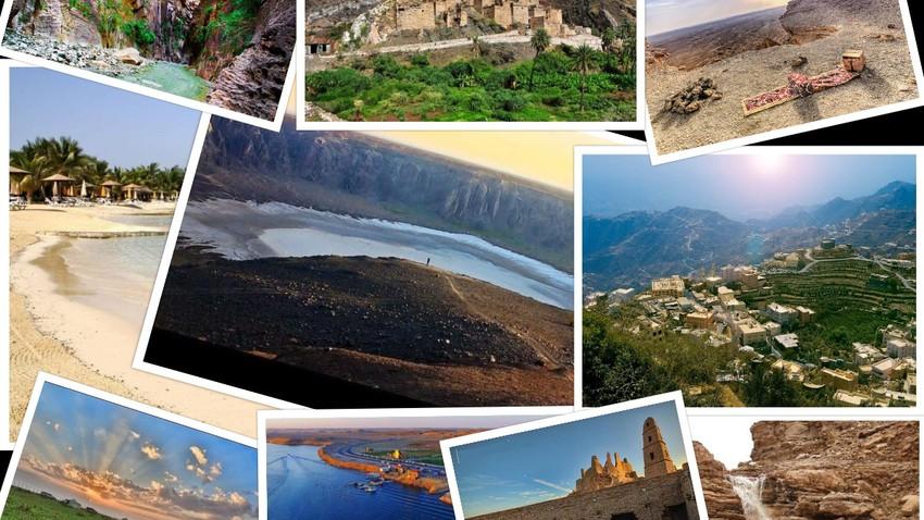 ١٠ وجهات سياحية في السعودية تستحق الزيارة