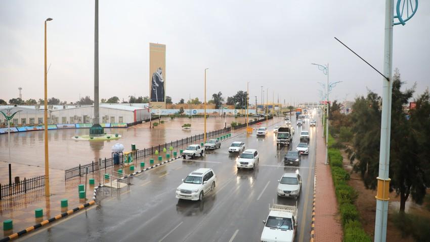 السعودية   طقس غير مستقر وفرص للأمطار على أجزاء من الجوف والحدود الشمالية