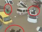 Vidéo | Des scènes catastrophiques et terrifiantes d'inondations et de pluies torrentielles dans la province du Henan (sud de la Chine) .. ils ont tout inondé !