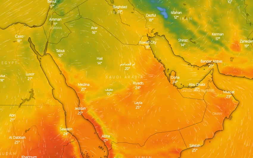 Saudi Arabia | In the middle of Al-Murabaniyah ... warmth will dominate Riyadh and the center of the Kingdom, starting from Thursday