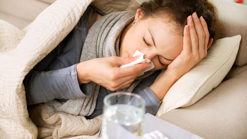 المرض في البرد