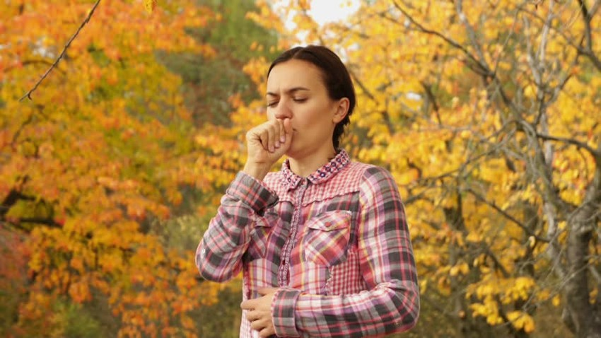 Why is the disease more frequent when the seasons change?