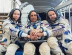 La première équipe de tournage arrive à la Station spatiale internationale pour tourner un film depuis l'espace
