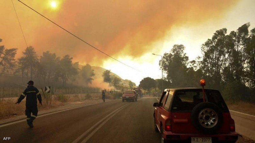 Turkey fires | The evacuation of a thermal power plant threatened by the raging fire