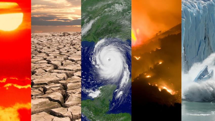 استعراض لأهم أحداث الطقس التي شهدها العالم خلال شهر يوليو/تموز 2021