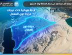 Arabie Saoudite | Les dernières évolutions des opportunités de pluie en fin de semaine et l'évolution de la ruée d'une masse d'air moins chaude vers le nord