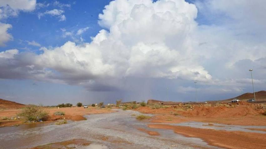 حفر الباطن | فرصة ضعيفة لأمطار محدودة على حفر الباطن مساء السبت