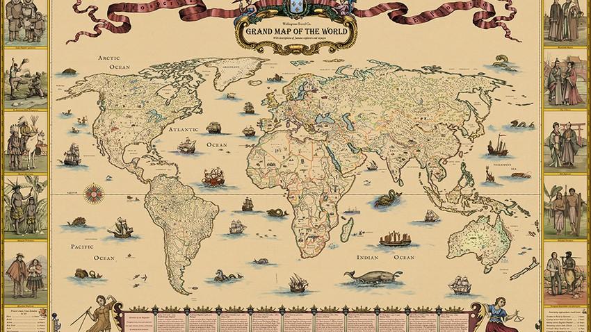 اكتشافات غيرت العالم | الخرائط